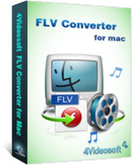 4Videosoft FLV Converter pour Mac