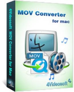 4Videosoft MOV Converter pour Mac