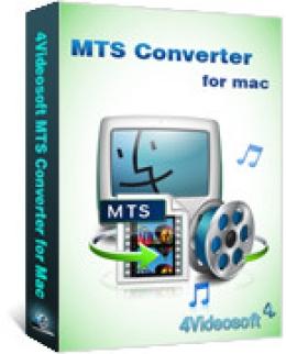 4Videosoft MTS Converter für Mac