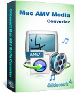 4Videosoft Mac AMV Media Converter