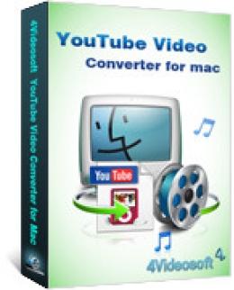 4Videosoft YouTube Video Converter für Mac