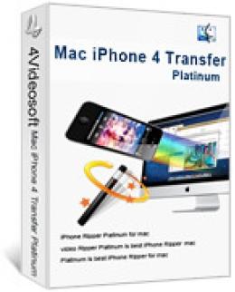4Videosoft iPhone 4 Transfert pour Mac
