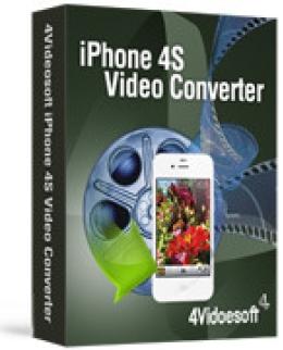 4Videosoft iPhone 4S Video Converter