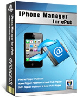 4Videosoft iPhone Manager pour ePub