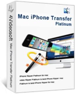 4Videosoft iPhone Transfer for Mac