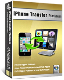 4Videosoft iPhone Transfer