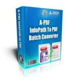 A-PDF Infopath to PDF