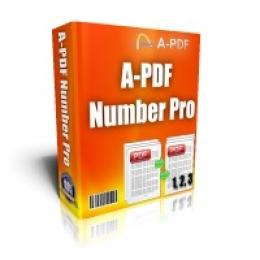 A-PDF Number Pro
