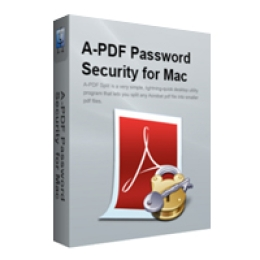 A-PDF Password Security for Mac