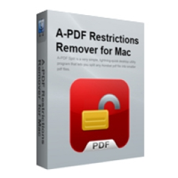 A-PDF Restrictions Remover for Mac