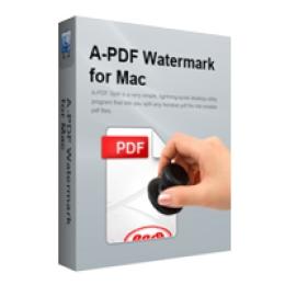 A-PDF Watermark for Mac
