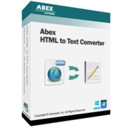 Abex HTML to Text Converter