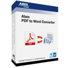 Abex PDF to Word Converter