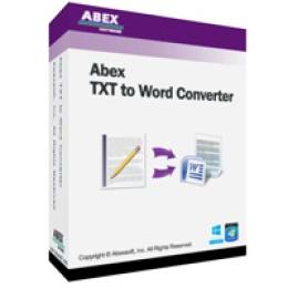Abex TXT to Word Converter