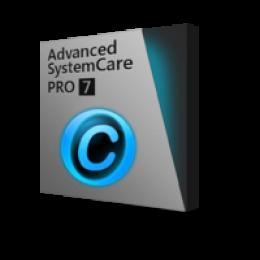 Advanced SystemCare 7 PRO (1 abbonamento anual por PC 3)
