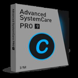 Advanced Systemcare 9 PRO (1 Jahresabo / 3 PCs)