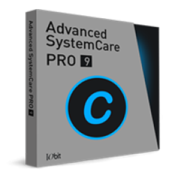 Advanced SystemCare 9 PRO with Bonus Item - [ 1 PC ]