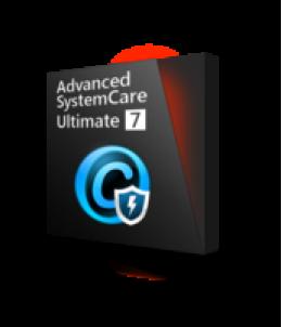 Advanced SystemCare Ultimate 7  avec Cadeau
