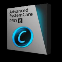 Advanced SystemCare pro v6 (suscripción de año 1)