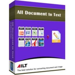 Ailt DOC RTF XLS PPT to TXT Converter