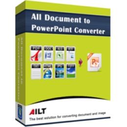 Ailt Text TXT to PowerPoint Converter