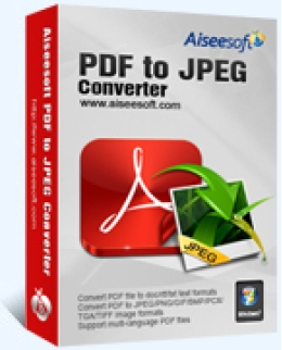 Aiseesoft PDF to JPEG Converter