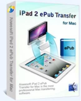 Aiseesoft iPad 2 ePub Transfer for Mac