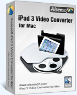 Aiseesoft iPad 3 Video Converter for Mac