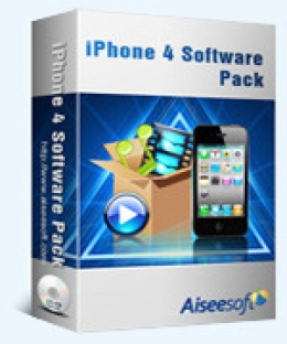 Aiseesoft iPhone 4 Software Pack