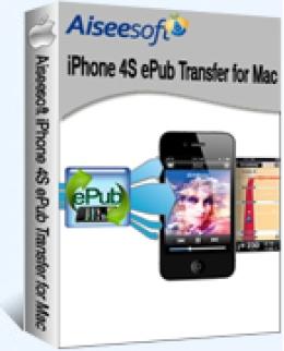 Aiseesoft iPhone 4S ePub Transfer for Mac - 15% Promo Code