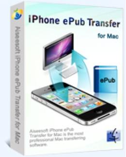 Aiseesoft iPhone ePub Transfer for Mac