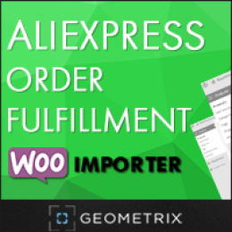 Aliexpress Order Fulfillment WooImporter. Add-on for WooImporter.