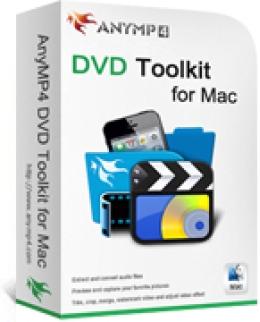 AnyMP4 DVD Toolkit pour Mac