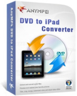 Convertisseur AnyMP4 DVD to iPad