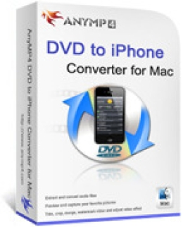 AnyMP4 DVD to iPhone Converter for Mac