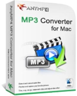 Convertisseur AnyMP4 MP3 pour Mac