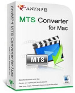 AnyMP4 MTS Converter para Mac