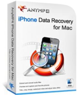 Recuperación de datos de iPhone AnyMP4 para Mac