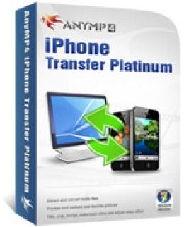 AnyMP4 iPhone Platino de transferencia