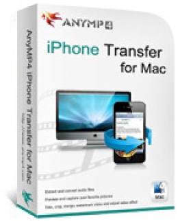 IPhone AnyMP4 Transfer para Mac