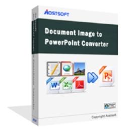 Aostsoft Document Image à PowerPoint Converter Pro