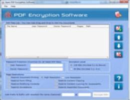 Apex PDF Encryption Software