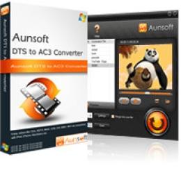 Aunsoft DTS to AC3 Converter