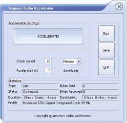 35% Azureus Turbo Accelerator Promotional Code Offer