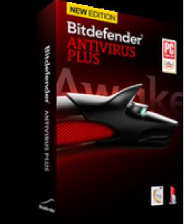 (BD)Bitdefender Antivirus Plus 2014 10-PC 1-Year