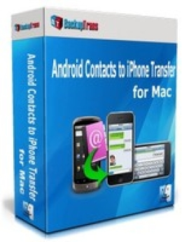 Backuptrans Contacts Android pour iPhone Transfer pour Mac (Personal Edition)