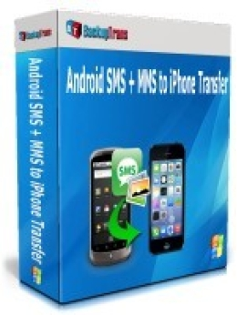 Backuptrans Android SMS + MMS vers iPhone Transfer (Personal Edition)