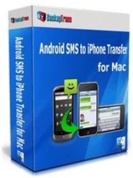 Backuptrans Android SMS a iPhone Transfer para Mac (Family Edition)