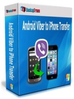 Copia de seguridad de Android Viber a iPhone Transfer (Business Edition)