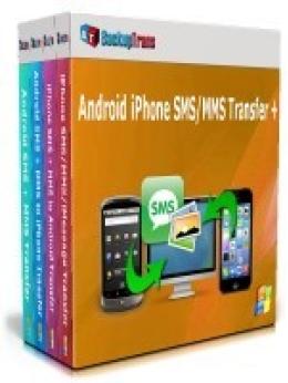 Backuptrans Android iPhone SMS / MMS Transfer + (edición familiar)